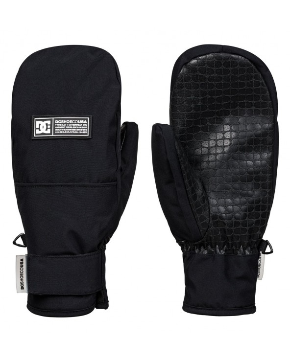 Dc Franchise Women Snowboard Mittens - Black