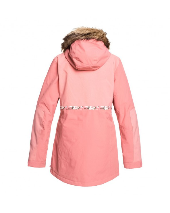 Dc Panoramic Snow Jacket - Dusty Rose