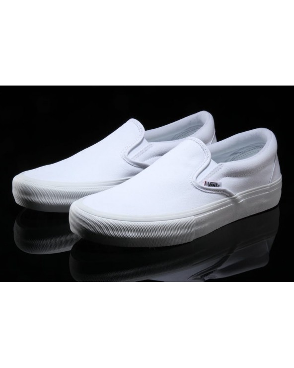 Vans Slip-On Pro Shoes - White / White