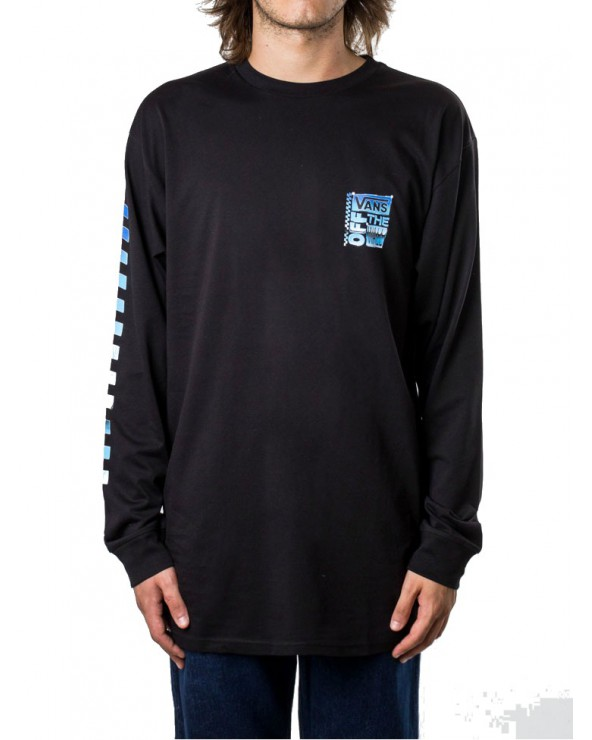 Vans Ave Chrome Long Sleeve - Black