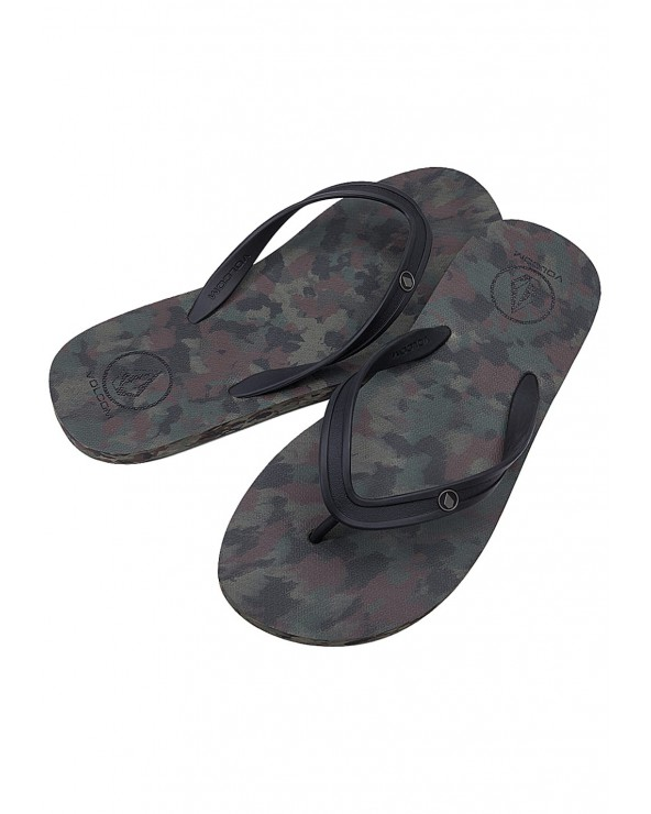 Volcom Rocker 2 Solid Sandals - Dark Camo (Dca)
