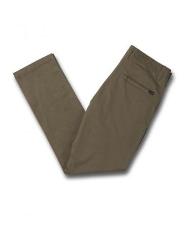 Volcom Frickin Skinny Chino Pants - Army Greeen Combo