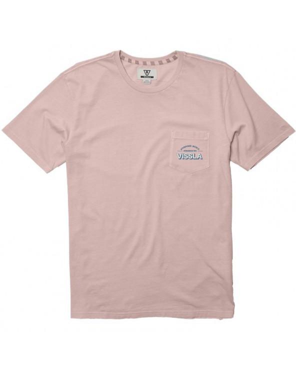 Vissla Customer Service Pigment Dye Tee - Streakin