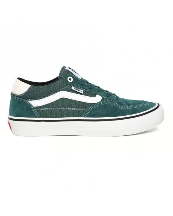 Vans Rowan Pro Shoes - Pine/White