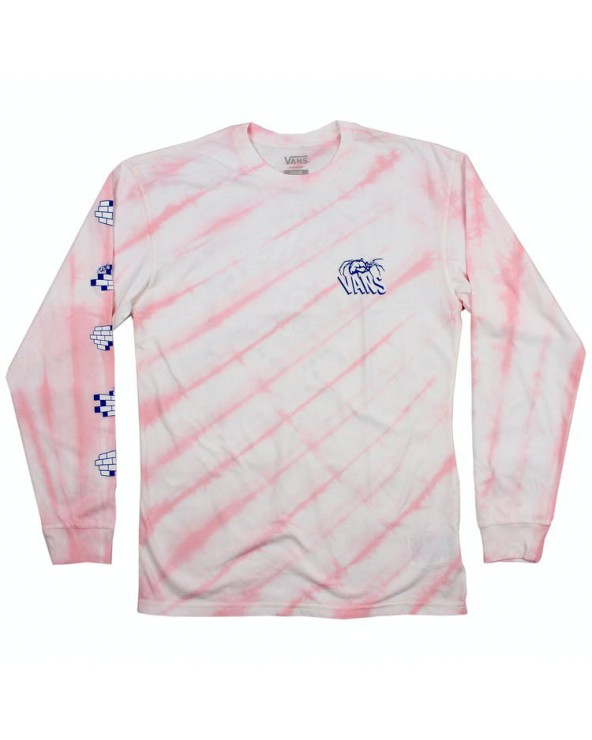 Vans Widow Maker Tie Dye Long Sleeve - Vans Cool Pink Tie Dye