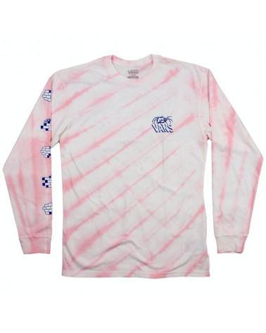Vans Widow Maker Tie Dye Long Sleeve - Vans Cool Pink Tie Dye