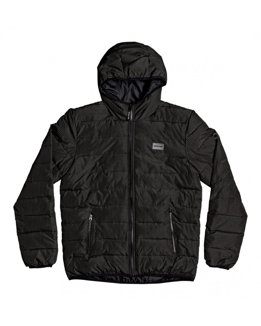 Dc Turner Puffer - Hooded Insulator Jacket - Black