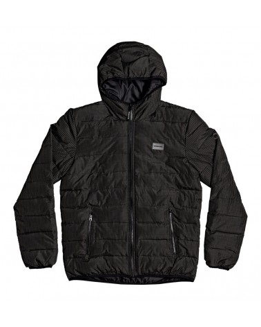 Dc Turner Puffer - Hooded Insulator Jacket - Black