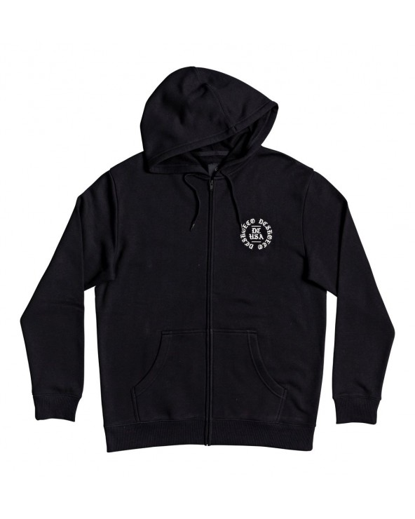 Dc Chained Up - Zip-Up Hoodie - Black