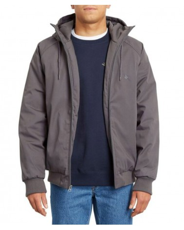 Volcom Hernan 5k Jacket - Dark Charcoal
