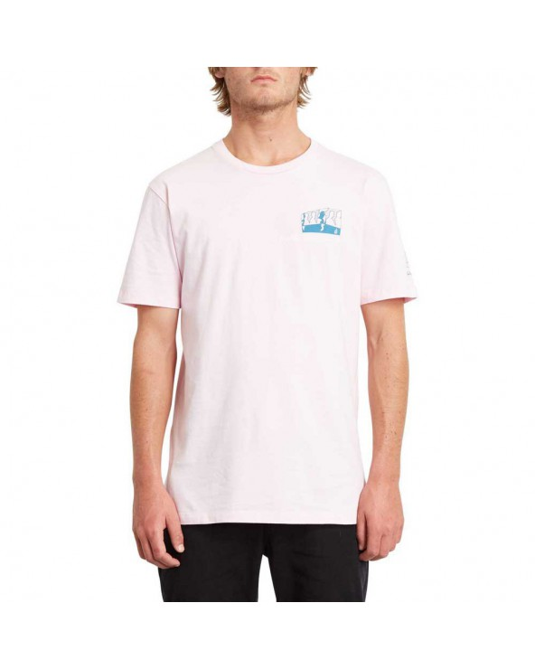 Volcom Julien Dupont Fa Tee - Snow Pink