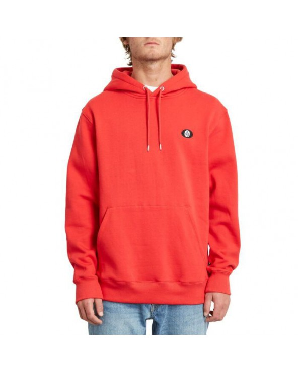 Volcom Single Stone Hoodie - Fiery Red