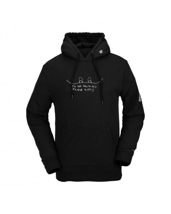 Volcom Snow Jla Technical Riding Hoodie - Black