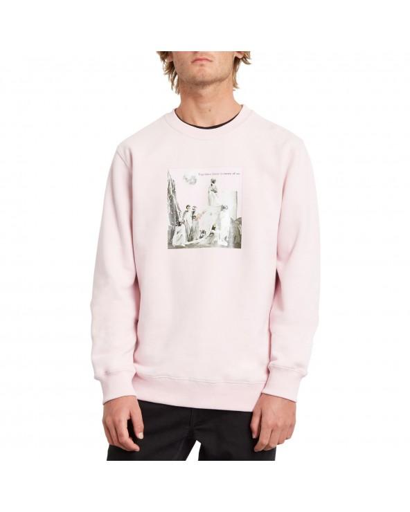 Volcom Max Loeffler Crewneck - Snow Pink