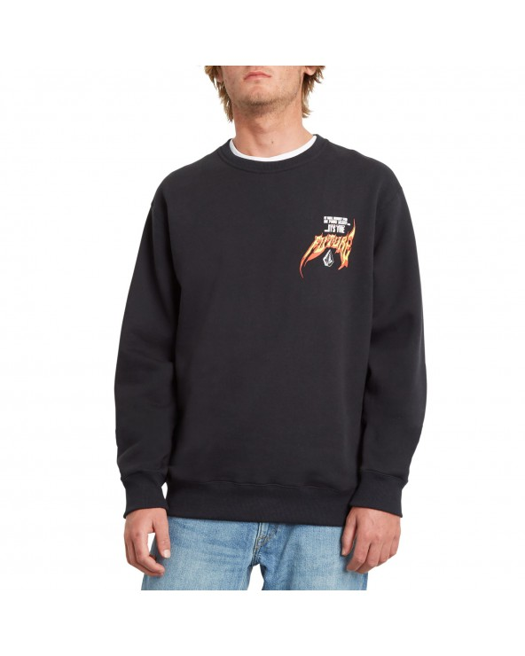 Volcom Scaromatic Crewneck - Black