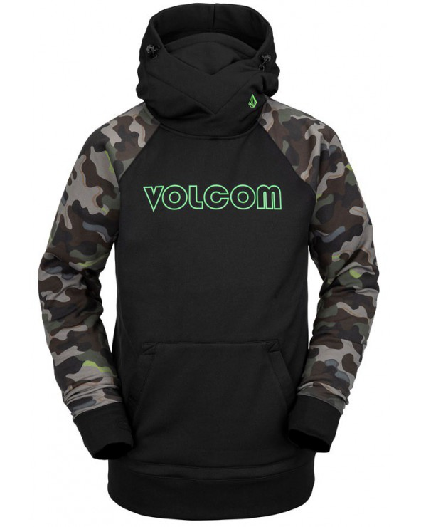 Volcom Snow Hydro Technical Riding Hoodie - Army