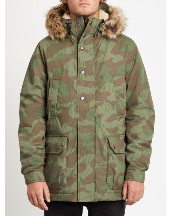 Volcom Lidward 5k Parka Jacket - Camouflage