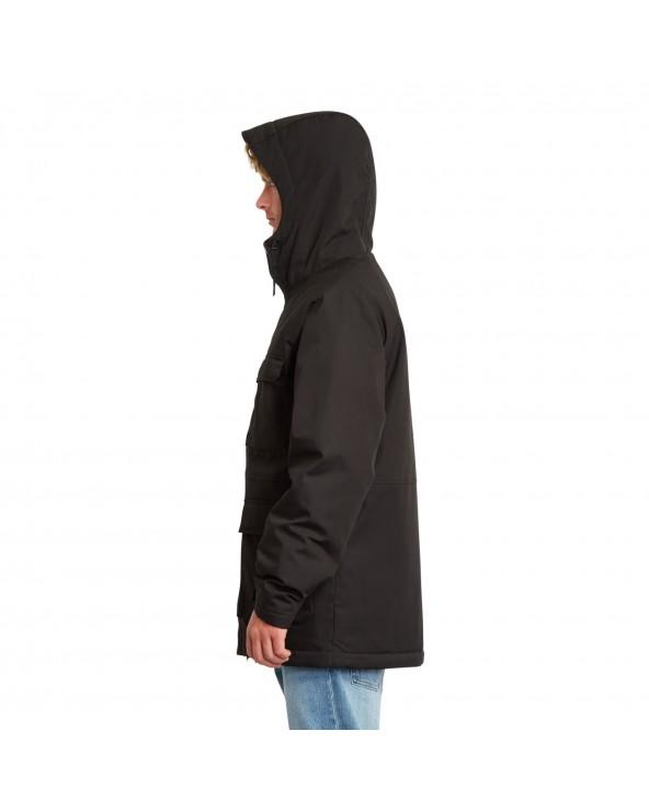 Volcom Renton Winter 5k Parka Jacket - Black