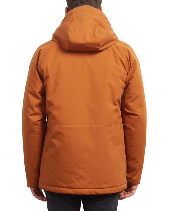 Volcom Renton Parka Jacket - Hazelnut (hzl)