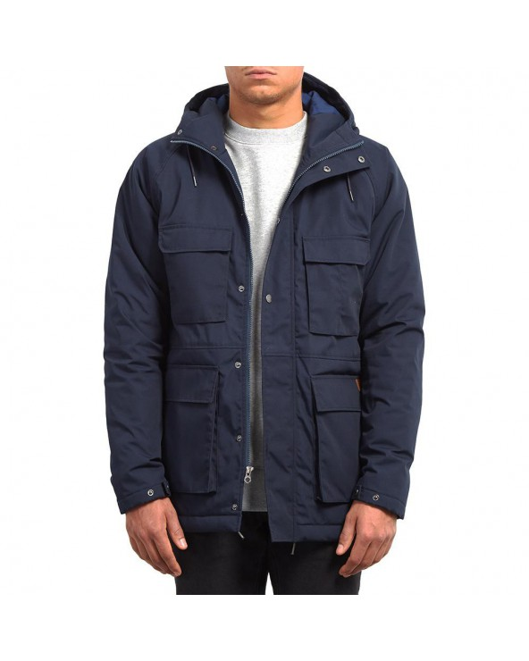 Volcom Renton Parka Jacket - Navy (nvy)