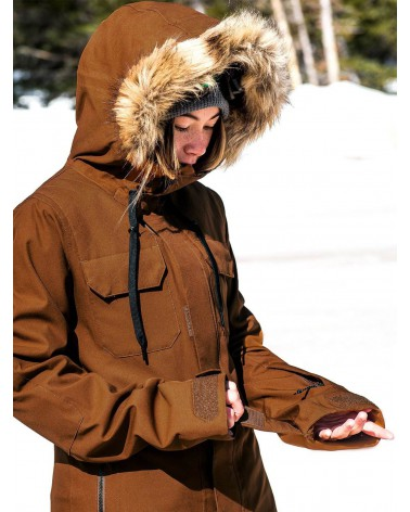 Volcom Snow Shadow Insulated Jacket - Copper