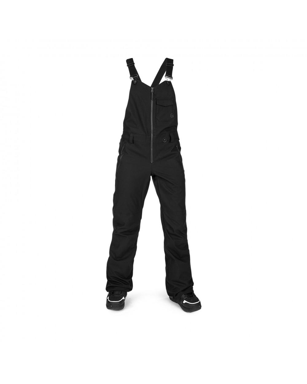 Volcom Snow Swift Bib Overall - Black