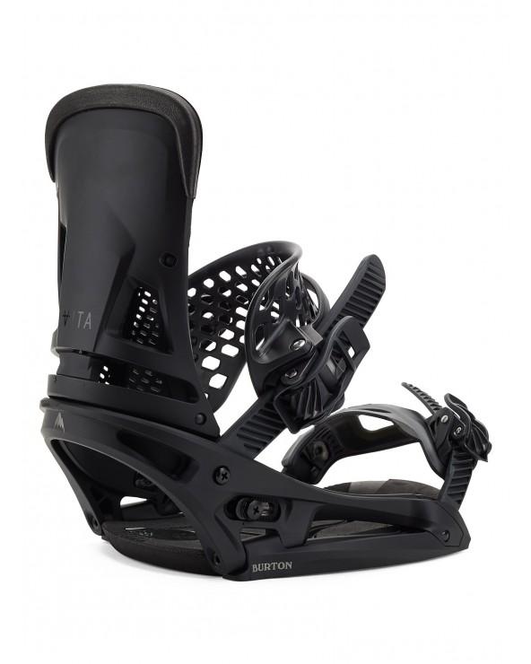 Burton Malavita Est Snowboard Binding - Blackish