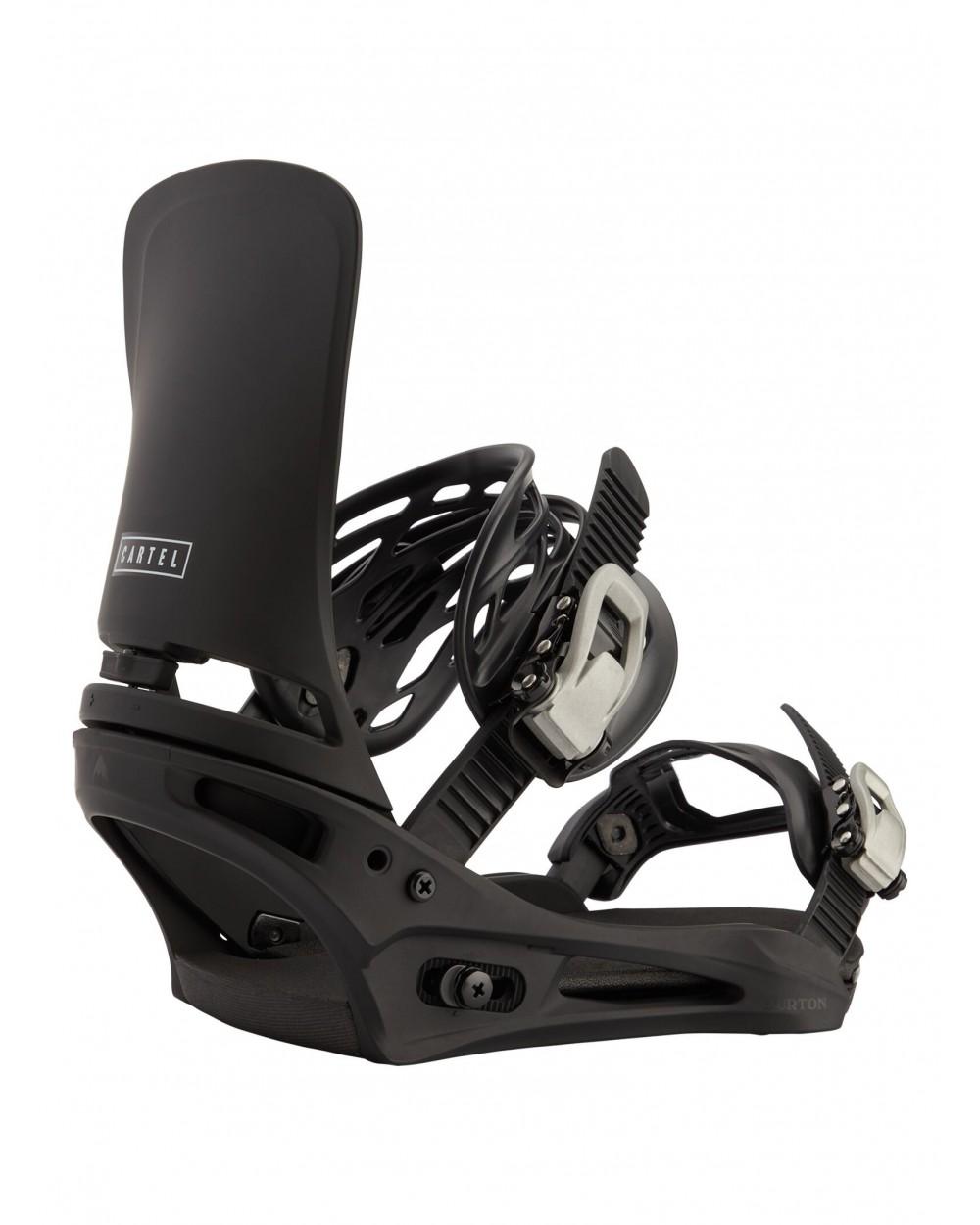 Burton Cartel Re:Flex Snowboard Binding - Black