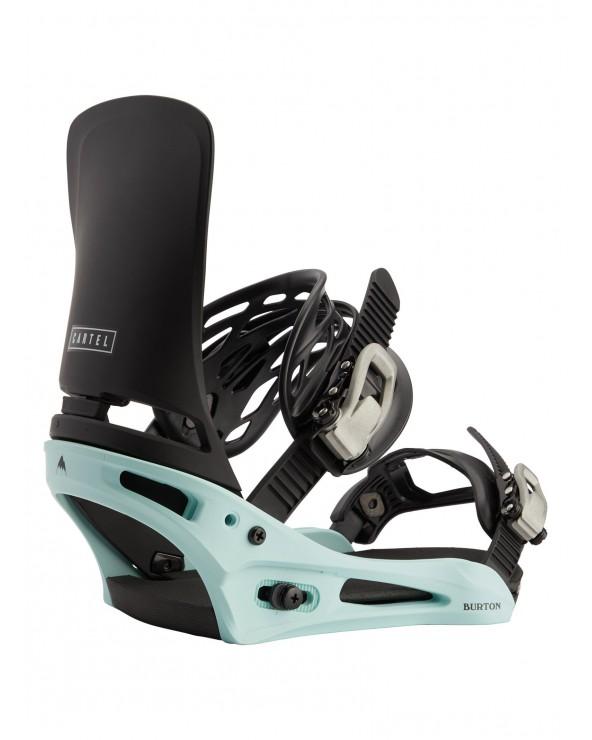 Burton Cartel Re:Flex Snowboard Binding - Black / Blue