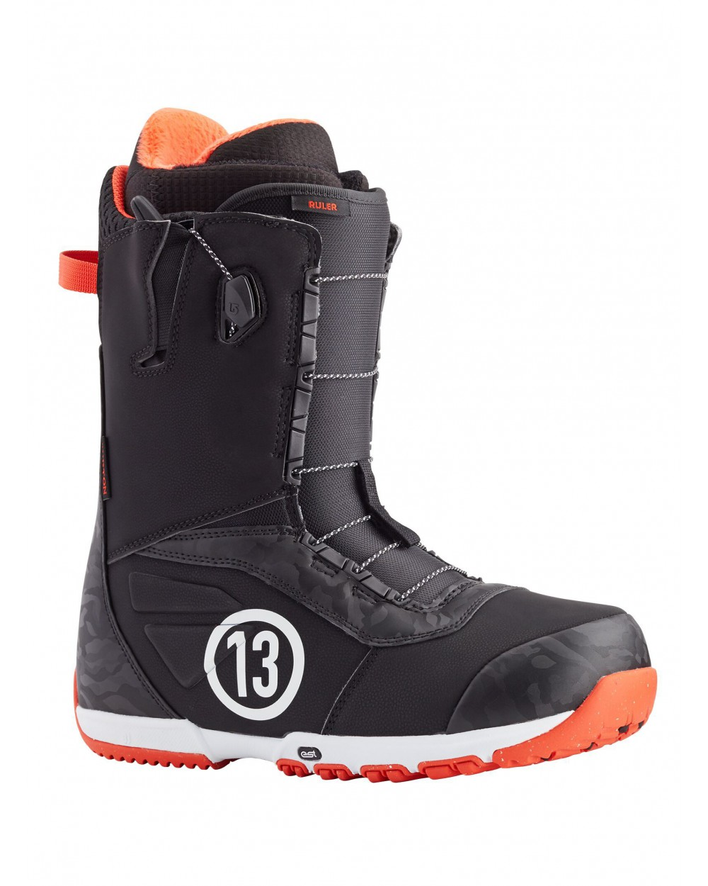 Burton Ruler Snowboard Boot - Black / Red
