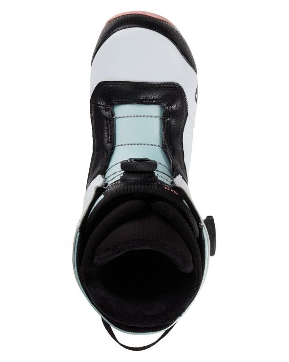 Burton Ruler BOA Snowboard Boot - White / Black / Multi