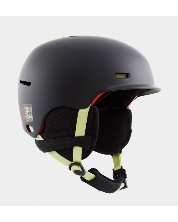 Anon Highwire Helmet - CE Black
