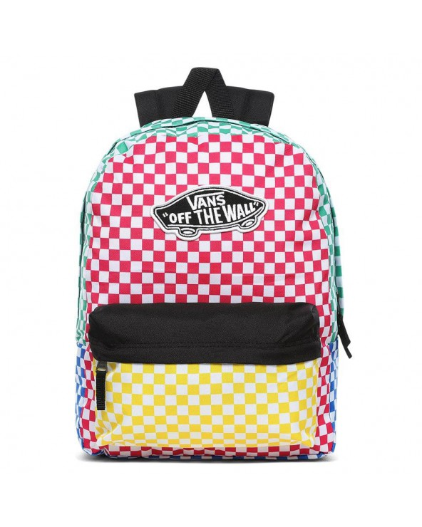 Vans Realm Backpack - Checker Block