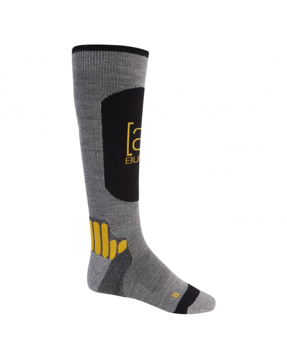 Burton AK Endurance Snowboard Sock - Grey Heather