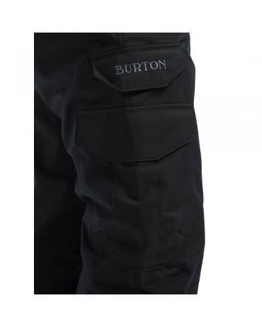Burton Cargo Pant Relaxed Fit - True Black