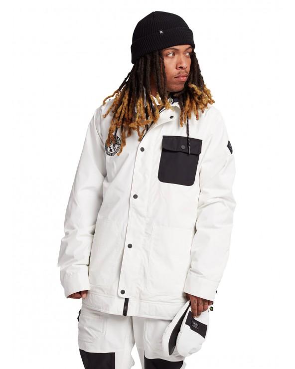 Burton Dunmore Jacket - Stout White