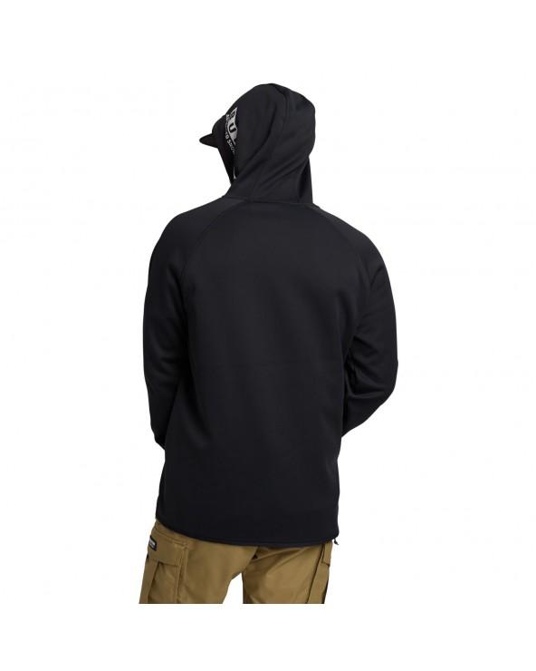 Burton Crown Weatherproof Hoodie - Riding Hoodie - True Black