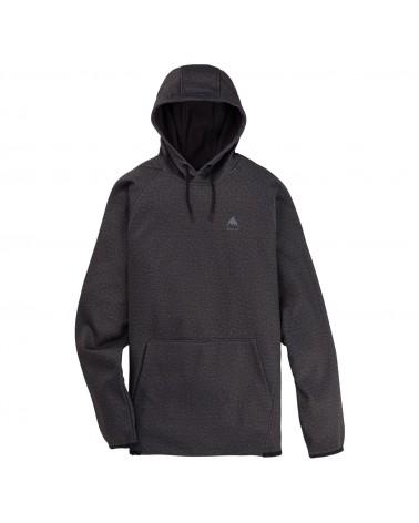 Burton Crown Weatherproof Hoodie - Riding Hoodie - True Black Heather