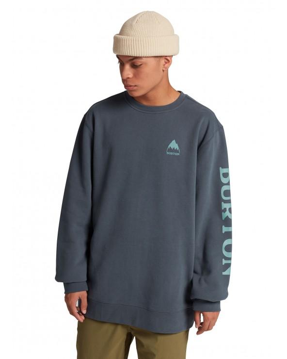 Burton Elite Sweatshirt Crew - Dark Slate