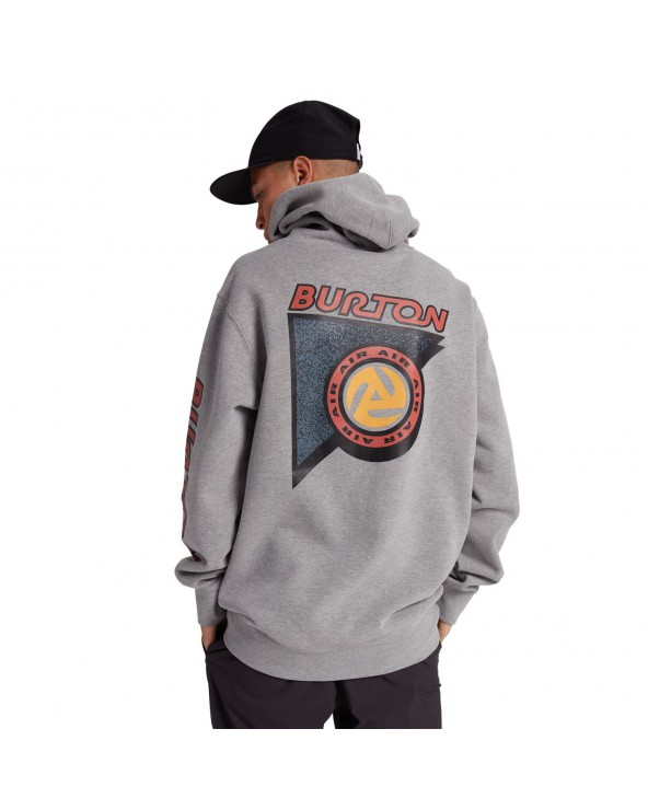 Burton Sequoia Hoodie - Gray Heather