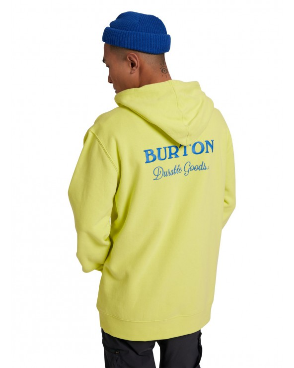 Burton Durable Goods Hoodie - Limeade
