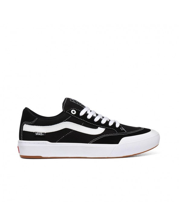 Vans Berle Pro Shoes - Black/True White