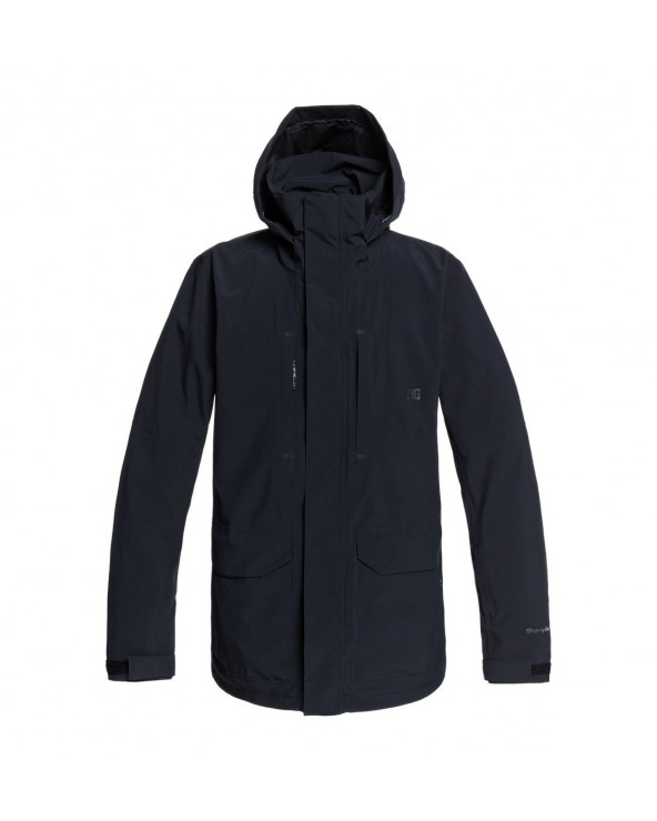 Dc Command Shell Snow Jacket - Black