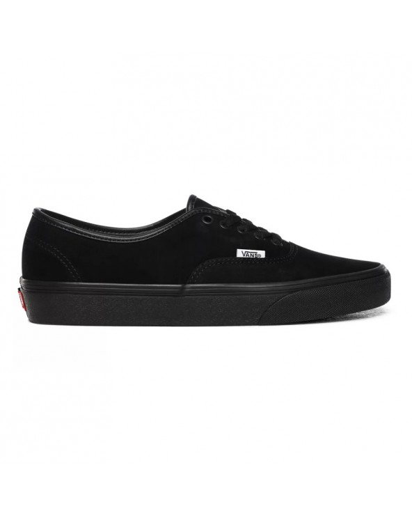 Vans Authentic Shoes - (Pig Suede) Black/Black