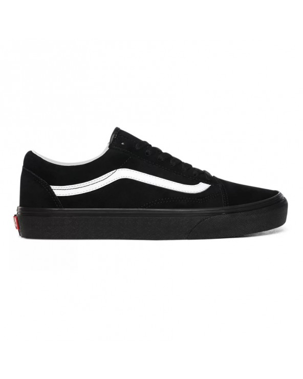 Vans Old Skool Shoes - (Pig Suede) Black/Black