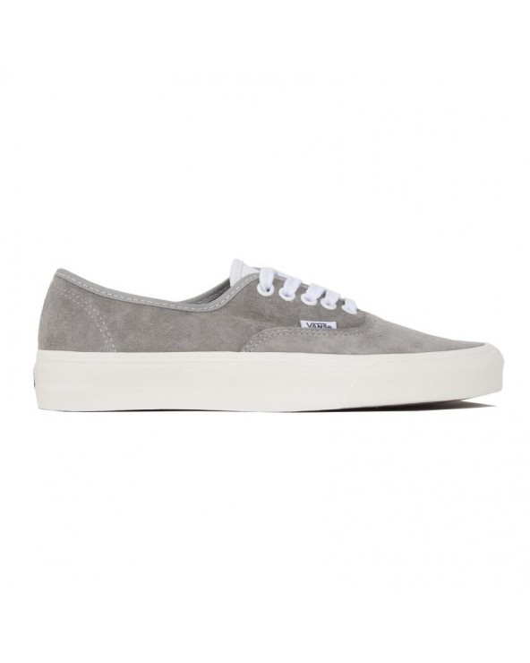 Vans Authentic Shoes - (Pig Suede) Drizzle/Snow White