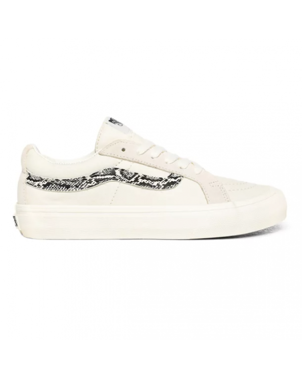 Vans Sk8-Low Reissue SF Shoes - (Snake) Marshmallow