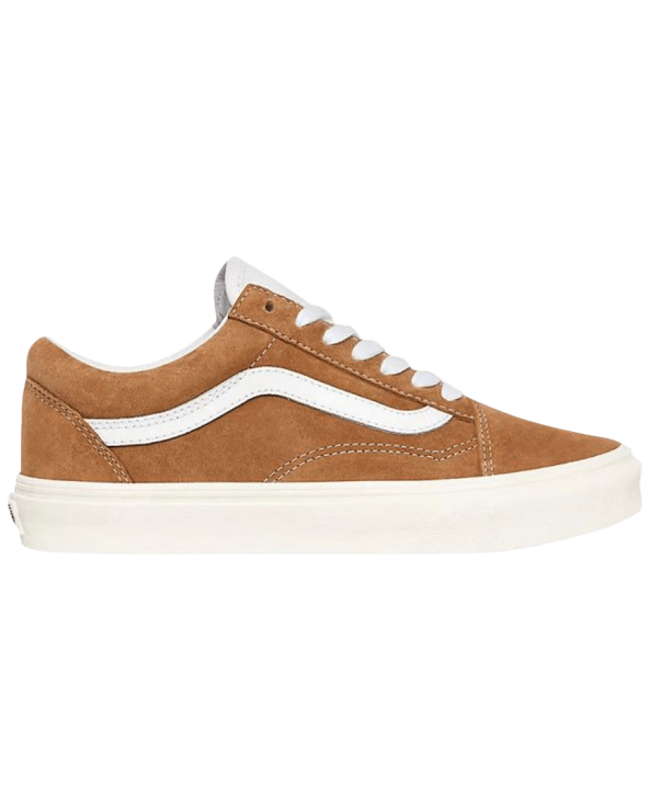 Vans Old Skool Shoes - (Pig Suede) Brown Sugar/Snow White