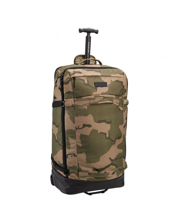 Burton Multipath Checked Travel Bag 90L - Barren Camo Print