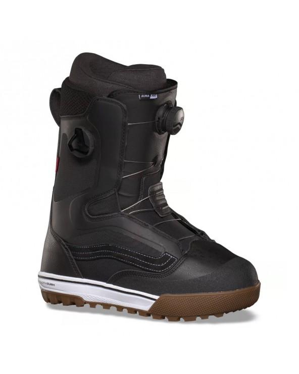 Vans Aura Pro Snowboard Boots - Black White